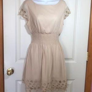 Bar lll Eyelet Dress